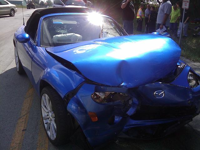 Teen auto accident