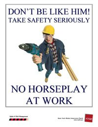 Horseplay at work