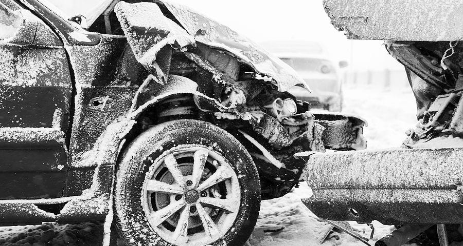 Winter Car Accidents Cause and Liability